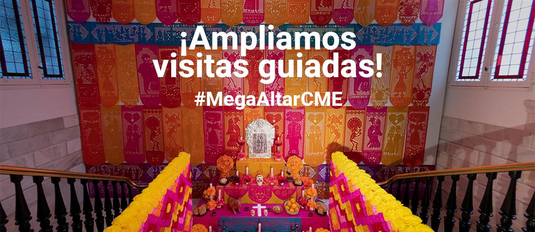 Mega altar día de muertos CME